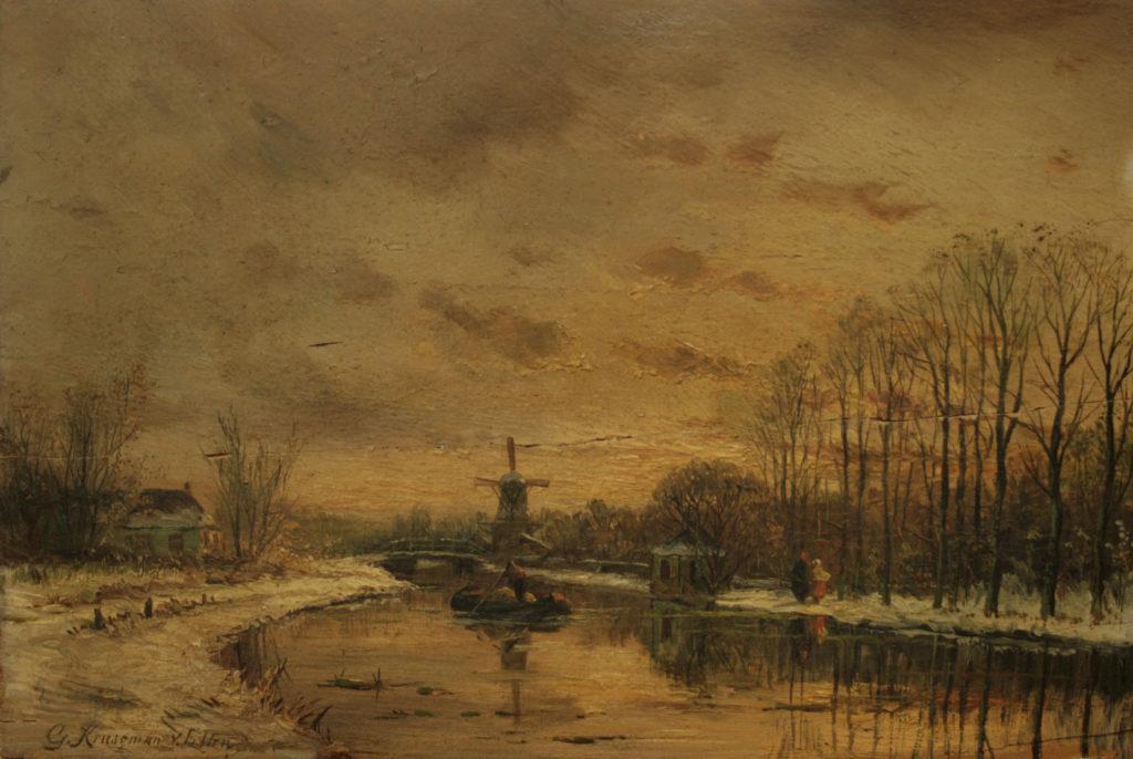 19de eeuws landschapschilder